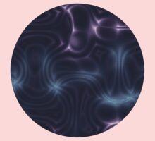 Purple Waves One Piece - Long Sleeve