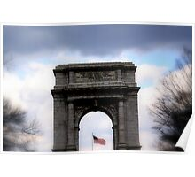The National Memorial Arch Poster