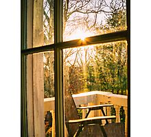 My Balcony In The Trees Photographic Print