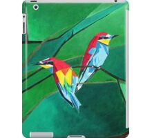 Brightly Colored European Bee-eaters iPad Case/Skin