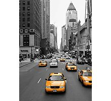 New York's Yellow Army Photographic Print