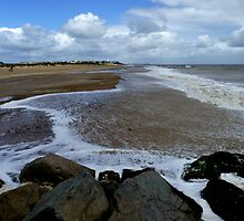 Southwold beach by KarenJI1962
