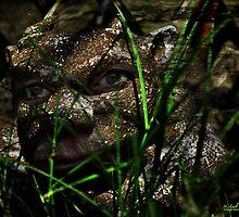Gargoyle in the Garden by michaelasamples