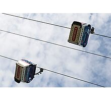 Greenwich London Cable Car  Photographic Print