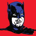 60s Batman Blue/Red by ell85design
