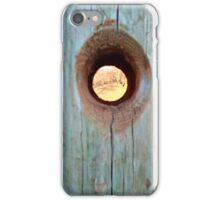 Knot Hole iPhone Case/Skin