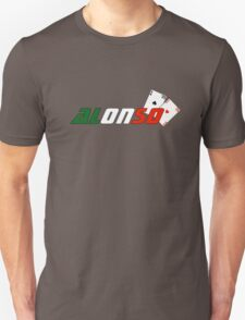Fernando Alonso (Italian colours) T-Shirt