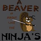 BEAVER NINJA by Derek Donovan