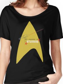 Set phasers to stunning. Women's Relaxed Fit T-Shirt