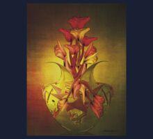 Tulip in Vase One Piece - Long Sleeve