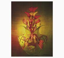 Tulip in Vase Kids Tee