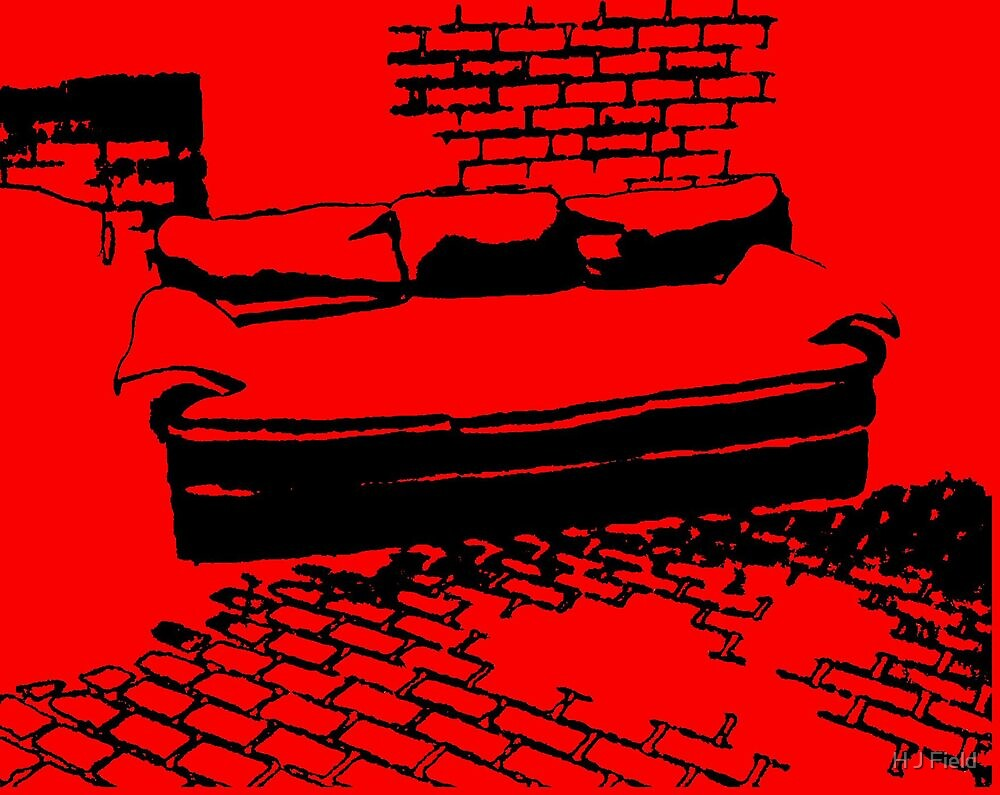 the sofa by H J Field