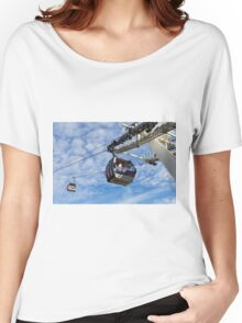 Greenwich London Cable Car  Women's Relaxed Fit T-Shirt