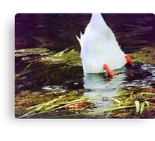 You Might Can Moonwalk, But Can You MoonWaddle? Canvas Print