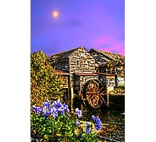 Moon Mill restaurant Pigeon Forge Photographic Print