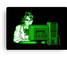 Computer Science (Green) Canvas Print