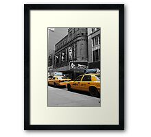 Just Off Broadway! Framed Print