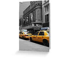 Just Off Broadway! Greeting Card