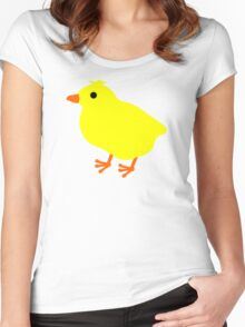 Easter Chick Women's Fitted Scoop T-Shirt