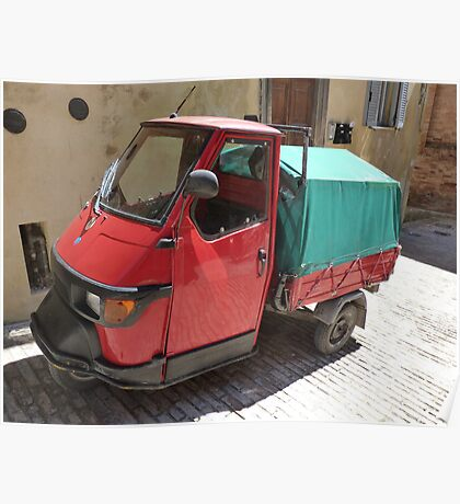 Three-wheeler mini truck Poster