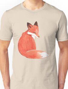 Watercolor Fox Unisex T-Shirt