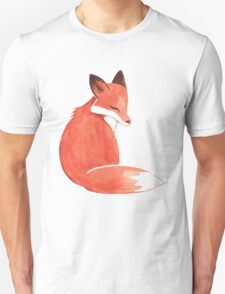 Watercolor Fox T-Shirt