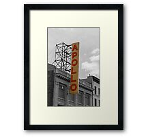 The Apollo Theatre in Harlem, New York Framed Print
