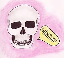 Whatever skull by Sarah St. Pierre