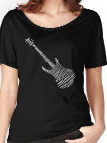 Guitar Sketch  Women's Relaxed Fit T-Shirt