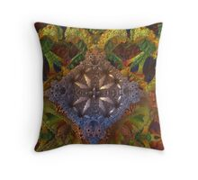 Atificial Life Creation On Mars Throw Pillow