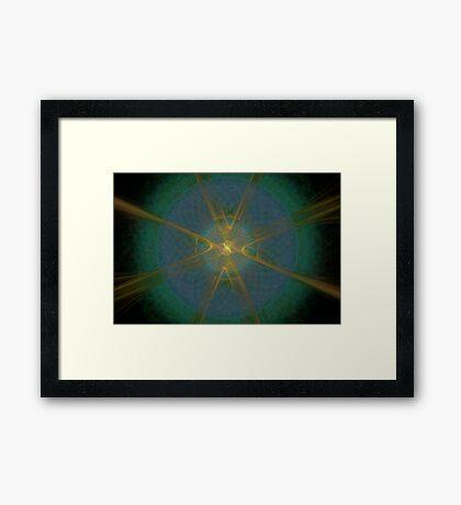 Life Mysterious Framed Print