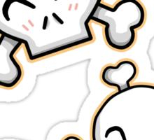 Cute Skulls Sticker