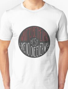 """""""I want to be the very best"""" - Pokemon Pokeball Quote T-Shirt"""