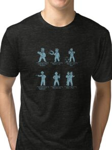 Breaking Bad figures Tri-blend T-Shirt
