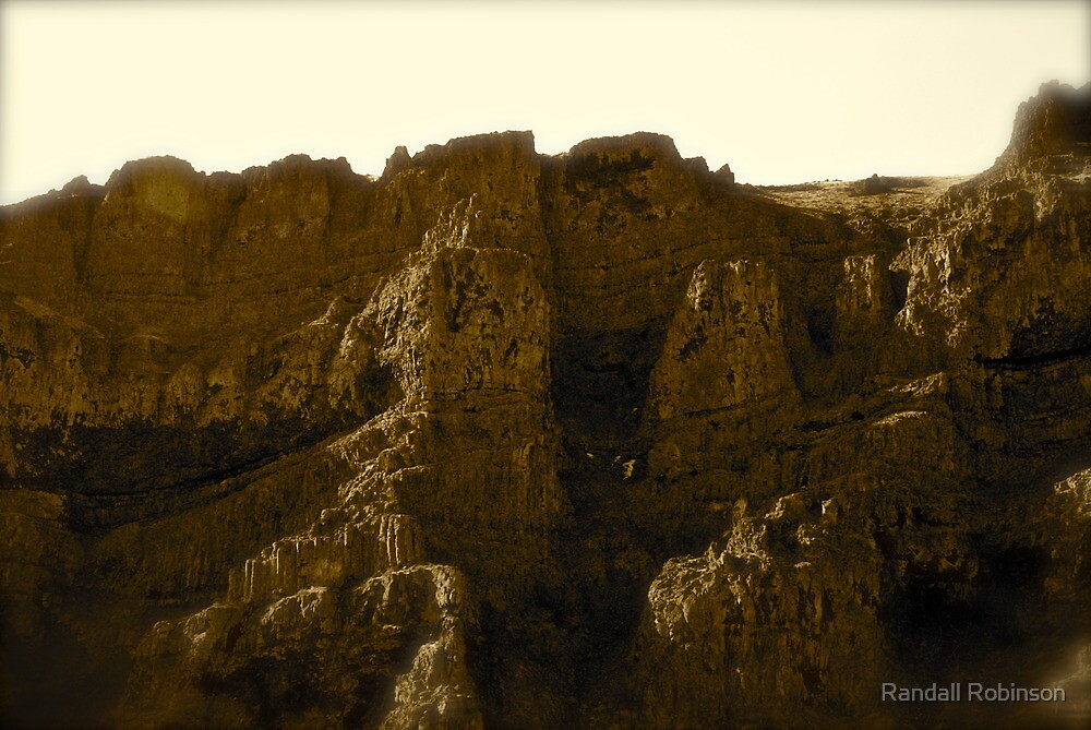 Hill Side Castles  by Randall Robinson