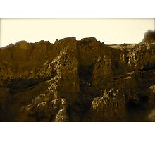 Hill Side Castles  Photographic Print