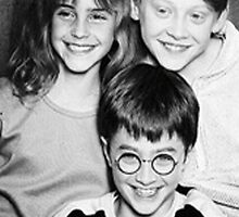 Harry Potter cast -iphone case by ksully