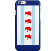 Chi-Ca-Go-Nate! Dalek Chicago Flag iPhone Case/Skin
