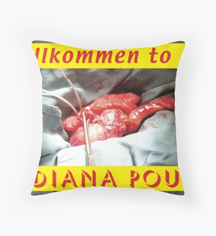 Indiana Pouch 2 Throw Pillow