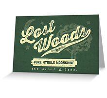 Lost Woods Moonshine Greeting Card