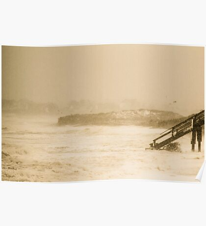 A Stormy Sea Poster