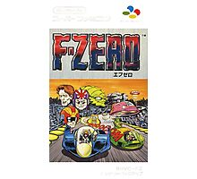 F-Zero Nintendo Famicom Box Art (NES) Photographic Print
