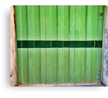 Green Grass - Chiara Conte Canvas Print