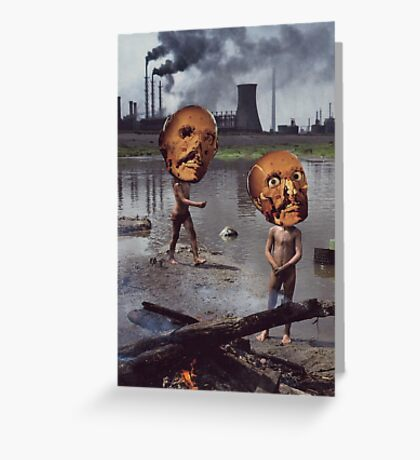 M Blackwell - Work Hazards Greeting Card
