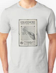 Advertisement for artist's paper 1914 Unisex T-Shirt