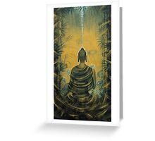 Buddha. Presence Greeting Card