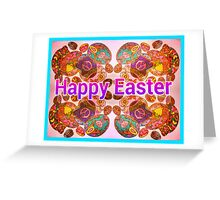 Painted Eggs Greeting Card