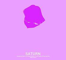 Sailor Saturn Case by Oshiokiyo