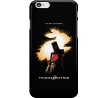 The Black Knight Rises (Text Version) iPhone Case/Skin