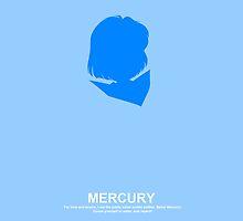 Sailor Mercury Case by Oshiokiyo